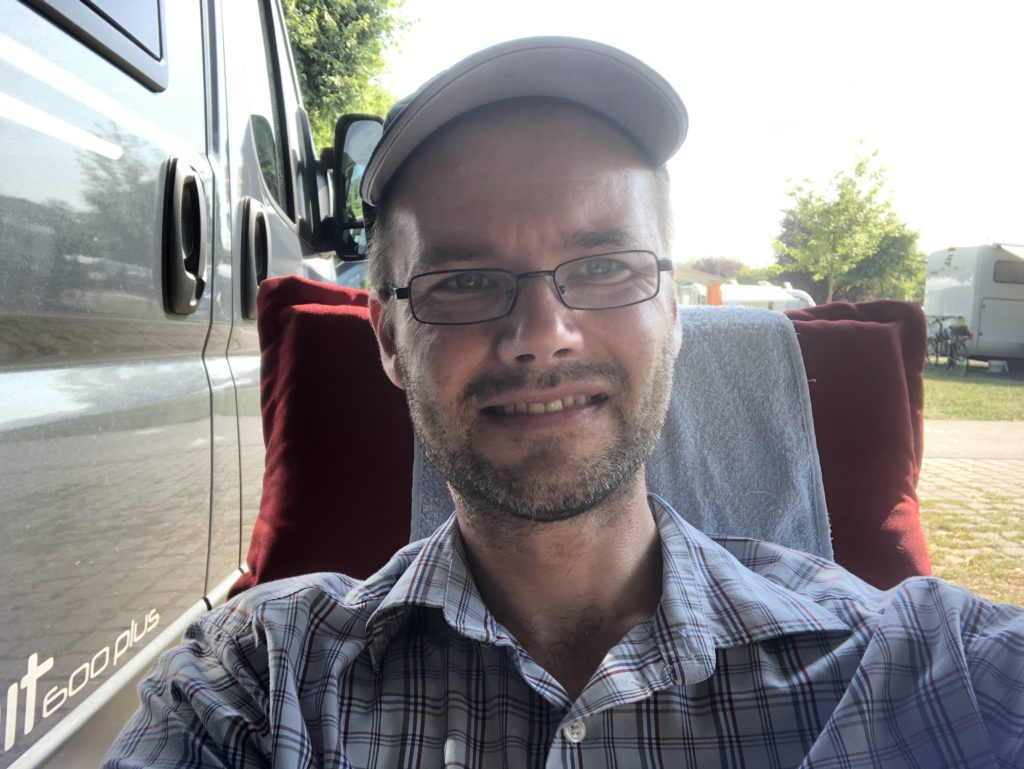 Schillen am Wohnmobil Campingplatz 17.07.2019