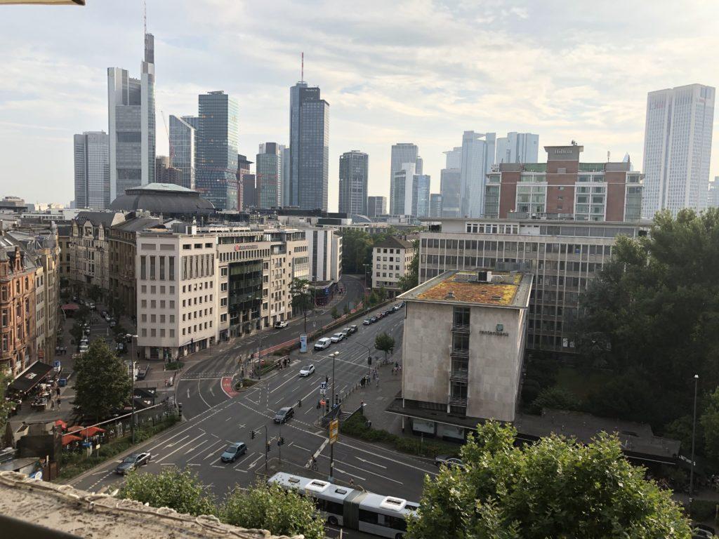 Innenstadt Frankfurt am Main 27.07.2019