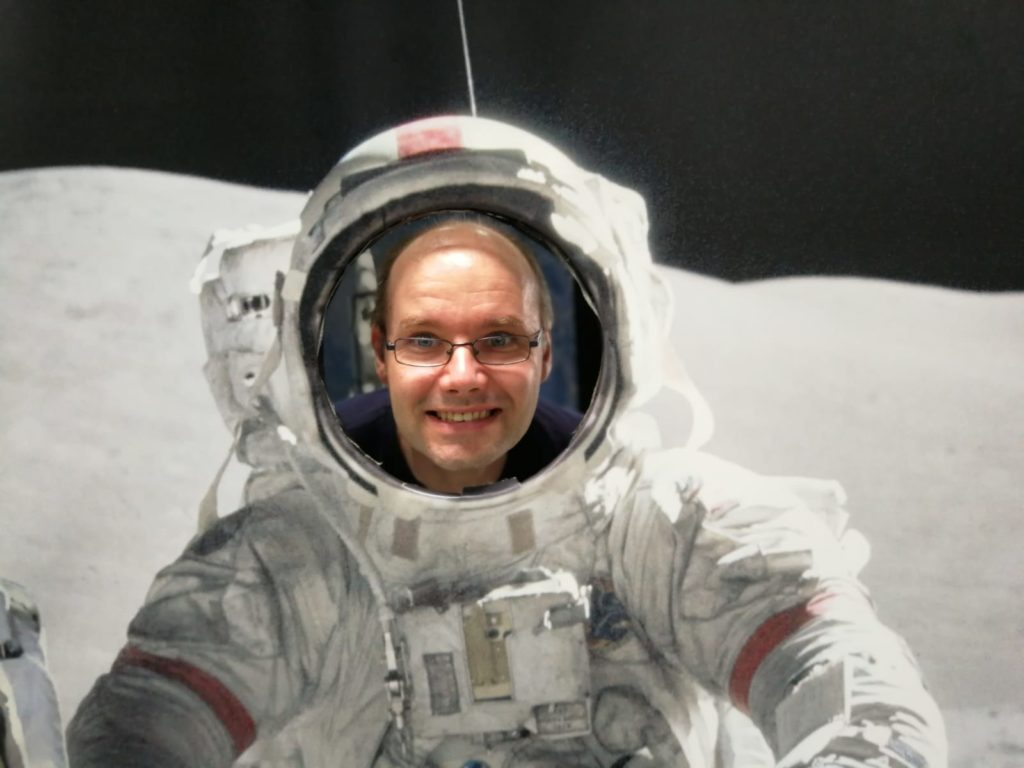 Technikmuseum Speyer Astronaut 18.07.2019