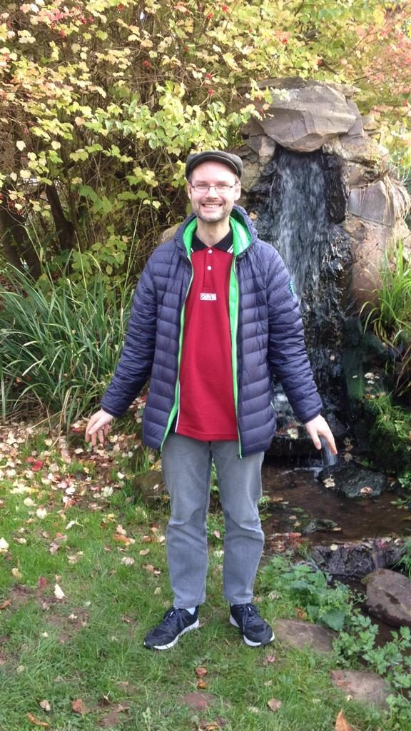 Brunnen im japanischen Garten Lebach 26.10.2019